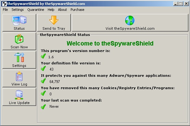 The Spyware Shield