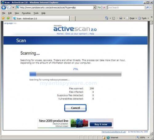 Panda Online Scan