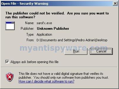sophos-ar-run-warning