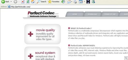 perfect codec