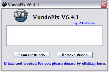 vundofix screenshot