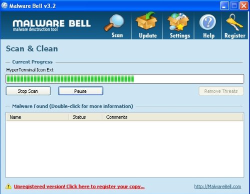 MalwareBell screenshoot