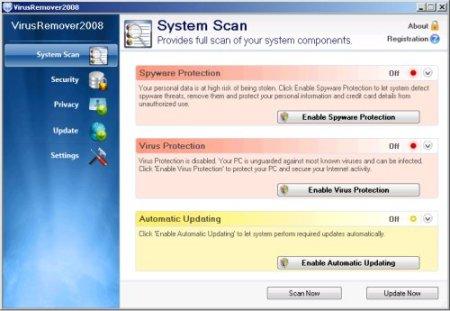 virusremover2008 rogue antispyware