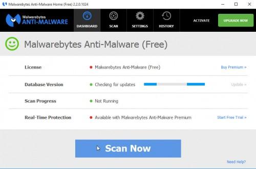 malwarebytes anti-malware update