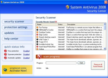 How to remove System Antivirus 2008 (Uninstall instructions) | My Anti
