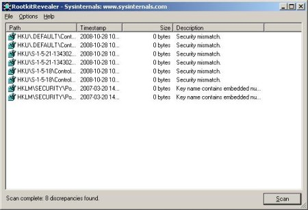 scan your pc for rootkit