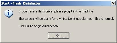 Flash Desinfector