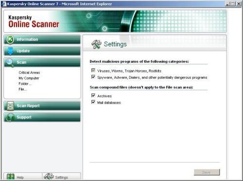 How to use Kaspersky online scanner (Free Virus Scan)