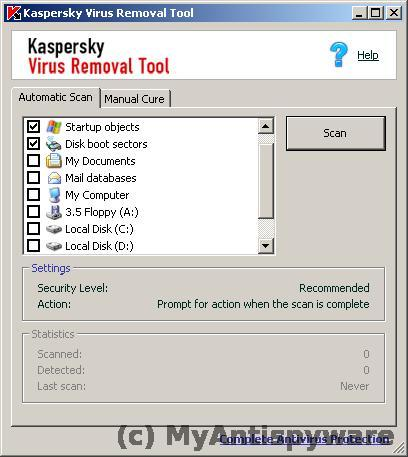 How to use Kaspersky virus removal tool | My Anti Spyware