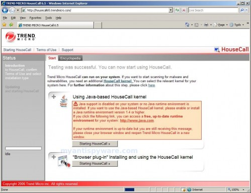 How to use TrendMicro online virus scanner (Trend Micro