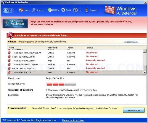 WindowsPCDefender