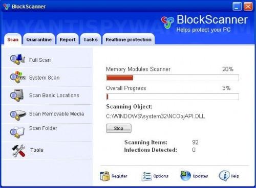 BlockScanner