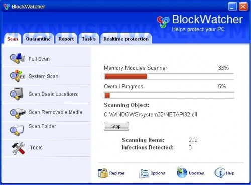 BlockWatcher