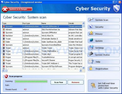 How to uninstall 007 Spy Software 3.92 completely within few clicks?