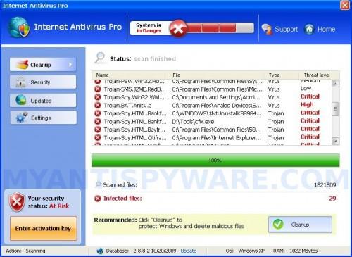 InternetAntivirusPro