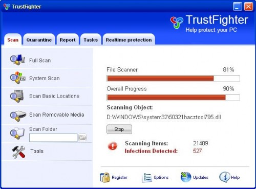 TrustFighter