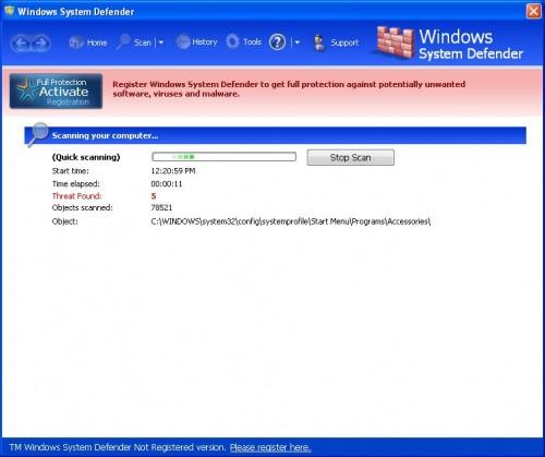 WindowsSystemDefender