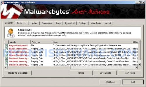 Win Antispyware Center remover