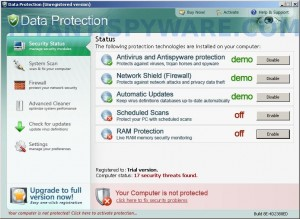 How to remove Data Protection (Uninstall instructions)