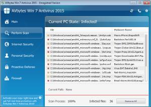 AVbytes Win 7 Antivirus
