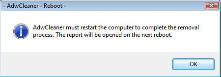 adwcleaner reboot