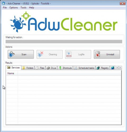 adwcleaner scanning for virus-found.in