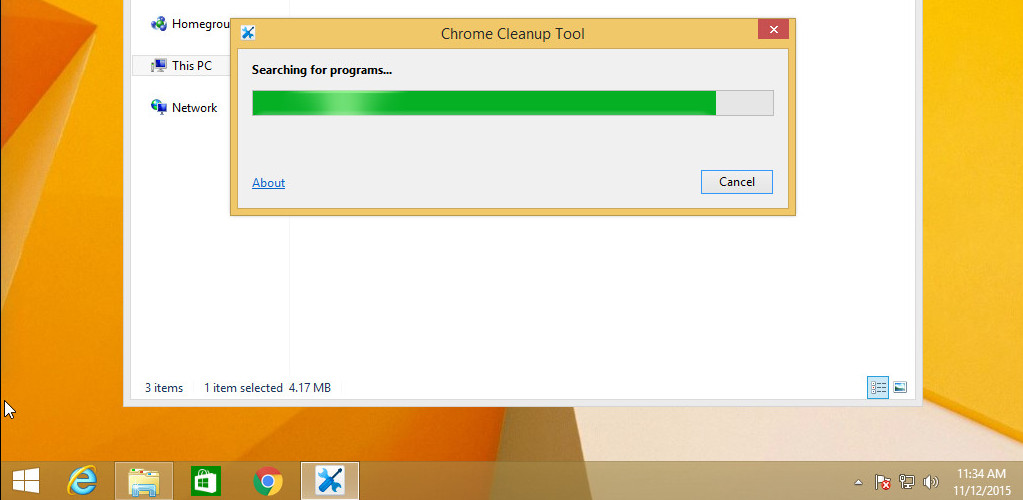 CHROME CLEANUP TOOL SCARICARE