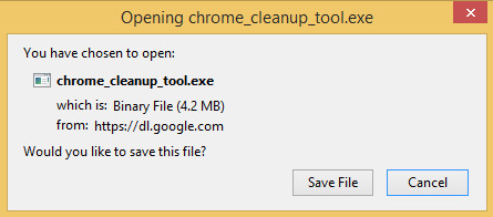 download chrome cleanup tool with firefox