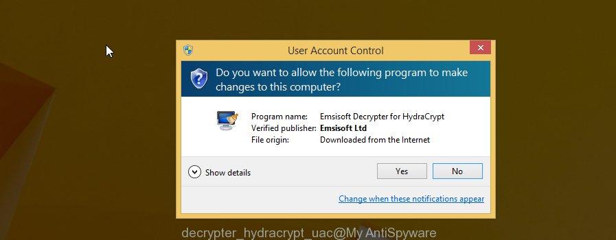decrypter_hydracrypt uac