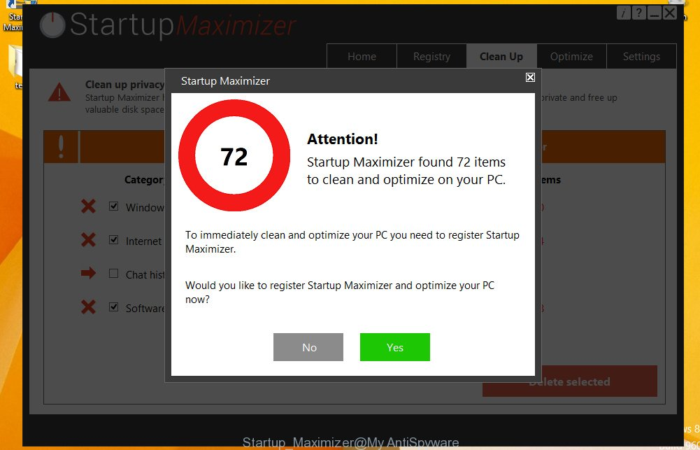 Startup Maximizer