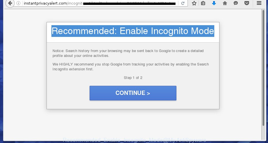 Recommended: Enable Incognito Mode