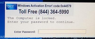 Windows Activation Error Code 0x44579