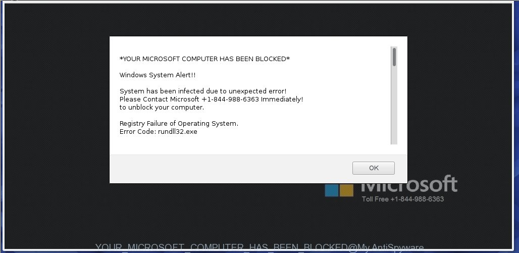 """""""YOUR MICROSOFT COMPUTER HAS BEEN BLOCKED"""" pop up saying that your PC is blocked"""