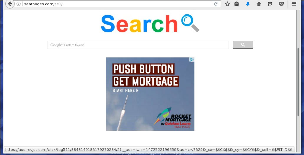 Searpages.com browser hijacker