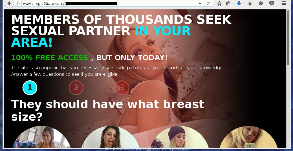 I keep getting random pop up ads on my facebook for dating sites, what to do?
