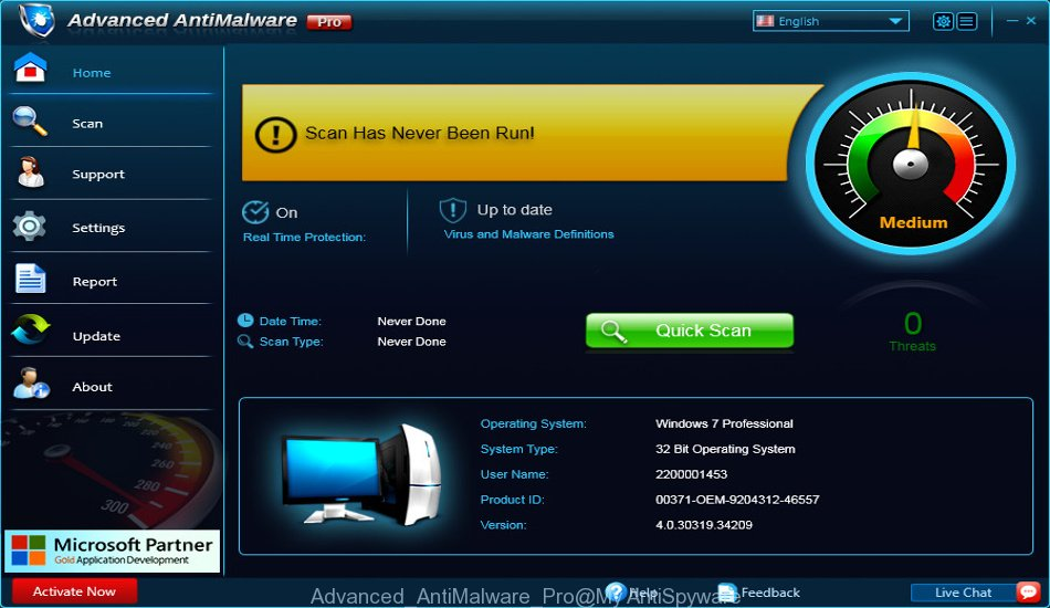 Advanced AntiMalware Pro