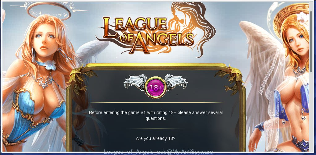 League of Angels ads