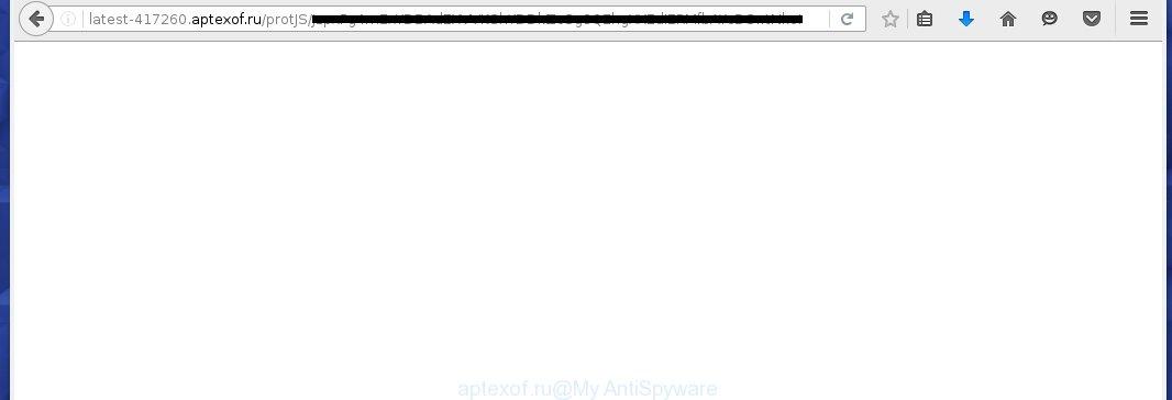 http://latest-417260.aptexof.ru/protJS/... redirects on various ads