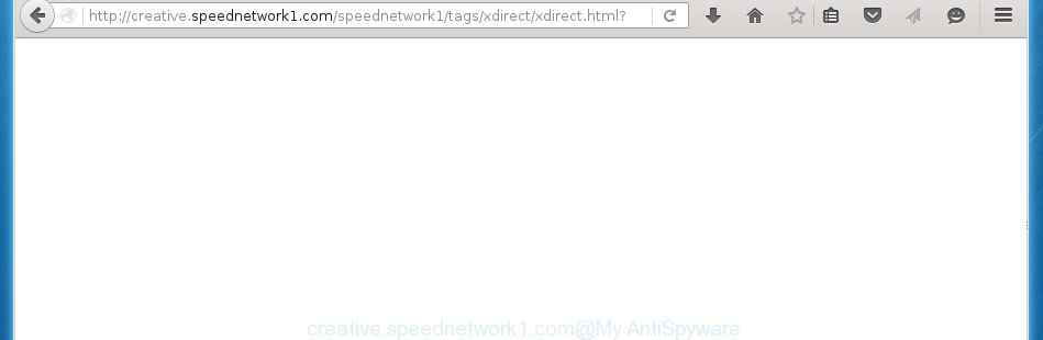 http://creative.speednetwork1.com/speednetwork1/tags/xdirect/xdirect.html redirects on various ads