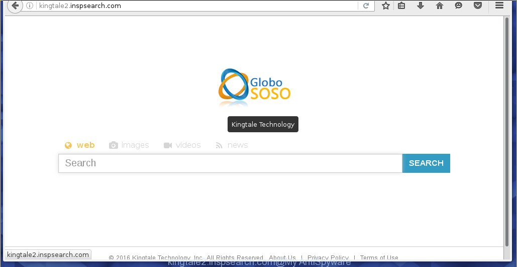 http://kingtale2.inspsearch.com/ - Kingtale Technology - Globo Soso