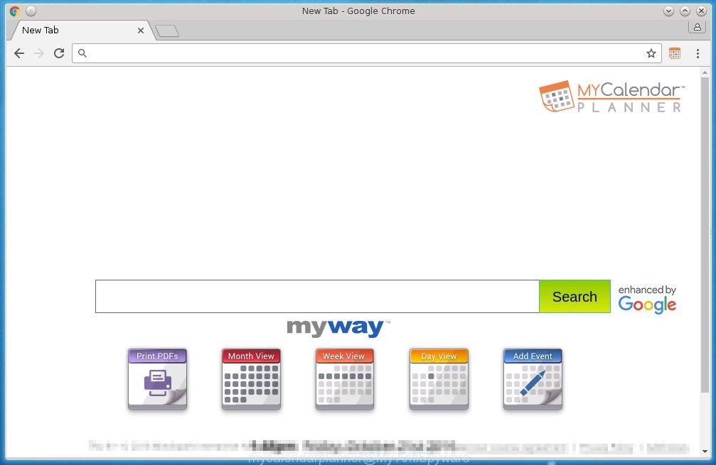 MyCalendarPlanner homepage
