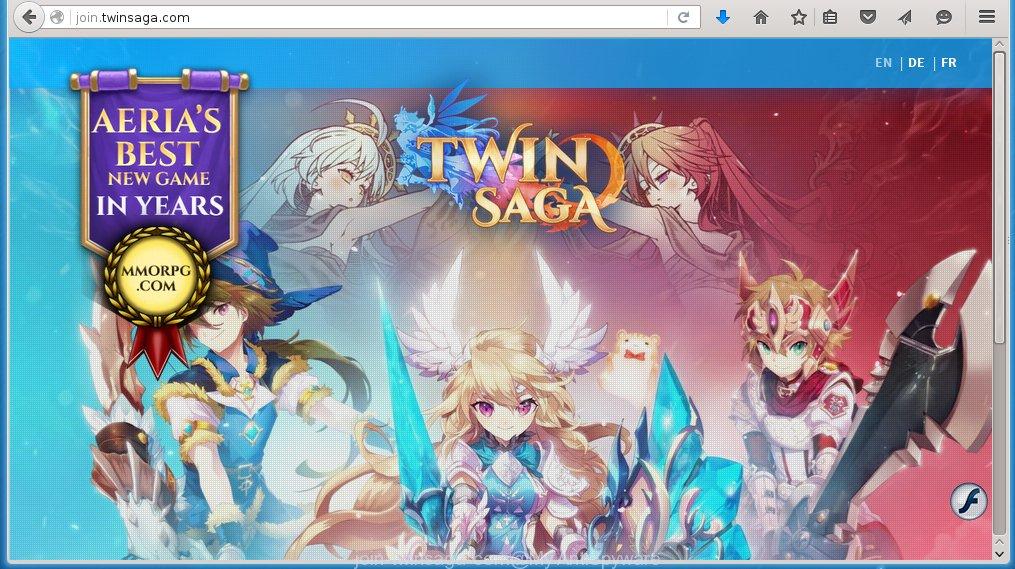 Twin Saga ads