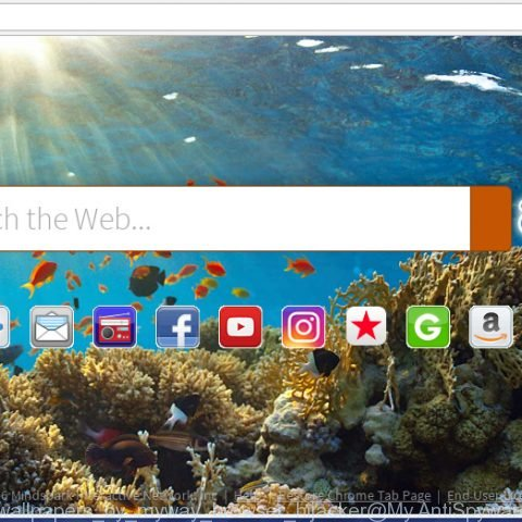 Wallpapers by MyWay browser hijacker