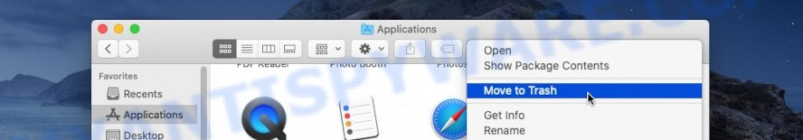 mac uninstall app