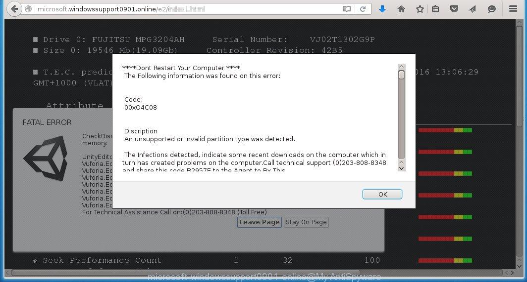 http://microsoft.windowssupport0901.online/e2 fake alert