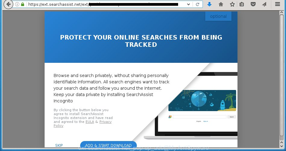 ext-searchassist-net pop-up ads