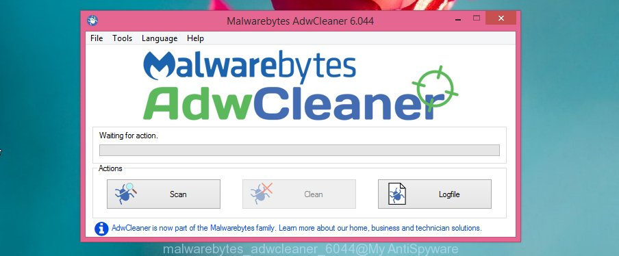 adwcleaner get rid of Safe Search hijacker virus related files, folders and registry keys