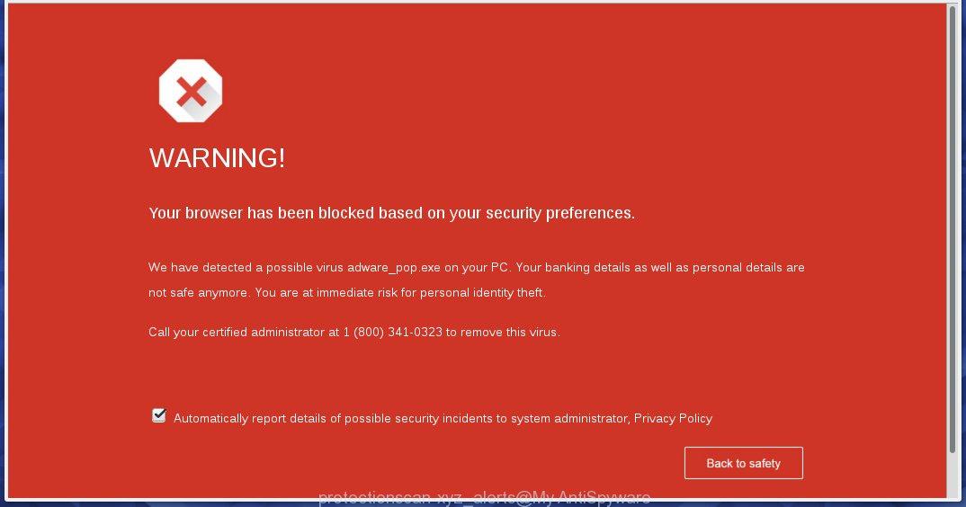 protectionscan-xyz alerts