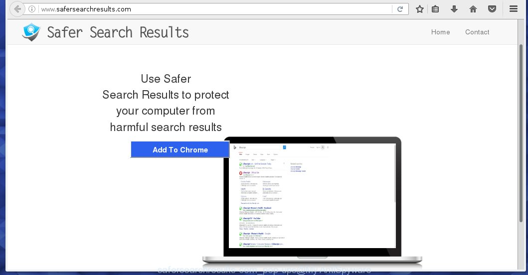 safersearchresults-com pop-ups