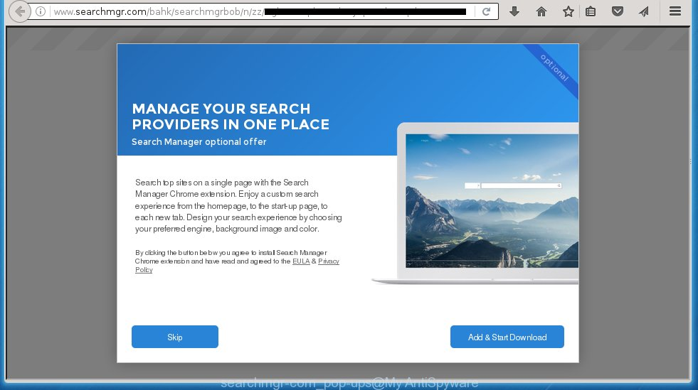 searchmgr-com pop-up